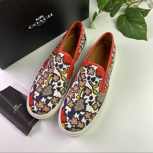 Authentic Coach Slip on sneakers new in the Box
